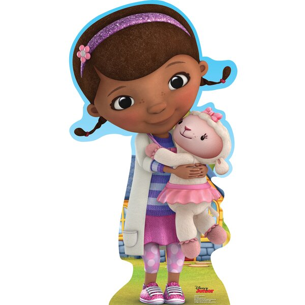 Disney Doc Mcstuffins Disney Junior Cardboard Stand Up By Advanced Graphics.