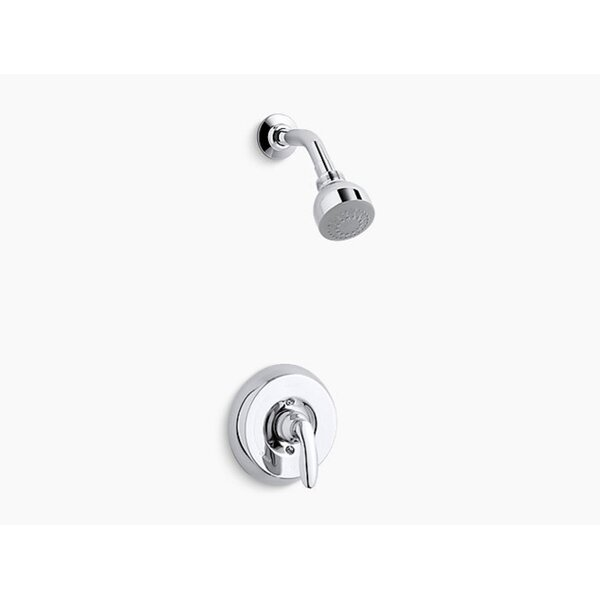 Kohler Coralais Rite-Temp Shower Valve Trim With Lever Handle And 2.5 Gpm Showerhead Project Pack (Set Of 12) By Kohler