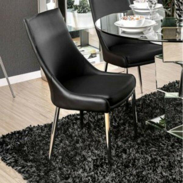 Barre Upholstered Dining Chair (Set of 2) by Orren Ellis