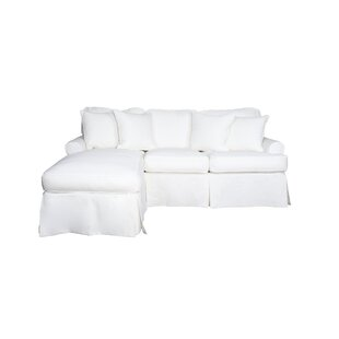 White Sofa Slipcovers Youu0027ll Love | Wayfair