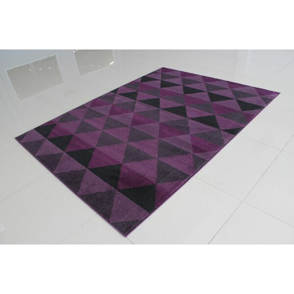 Popovich Lilac Area Rug by Wrought Studio