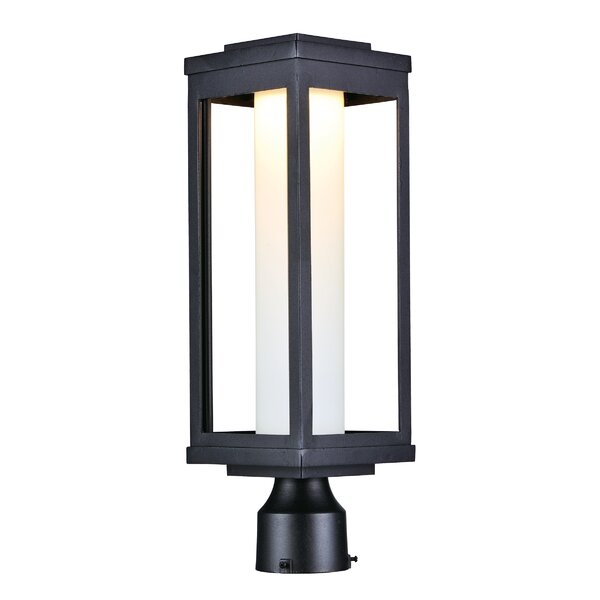 Cavazos Outdoor 1-Light LED Black Lantern Head by Latitude Run