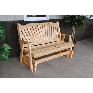 Fanback Glider Bench A&L Furniture