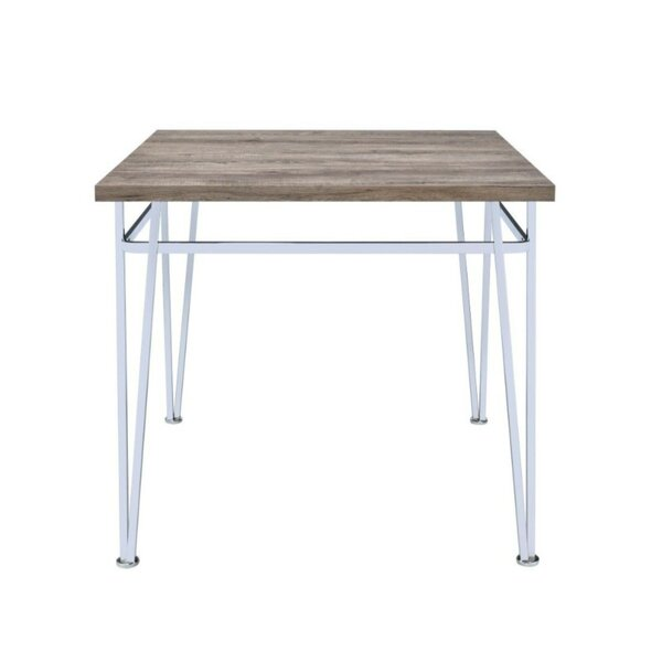 Ullrich Modern Counter Height Solid Wood Dining Table by Orren Ellis