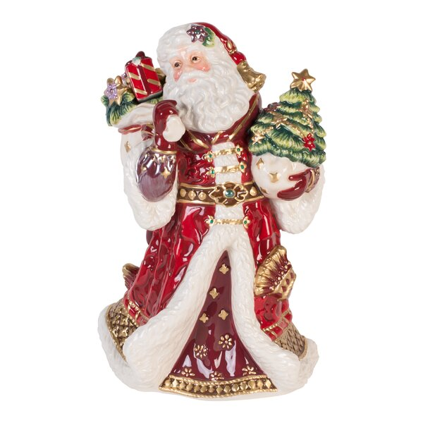 Holiday Musical Renaissance Figurine by Fitz and Floyd