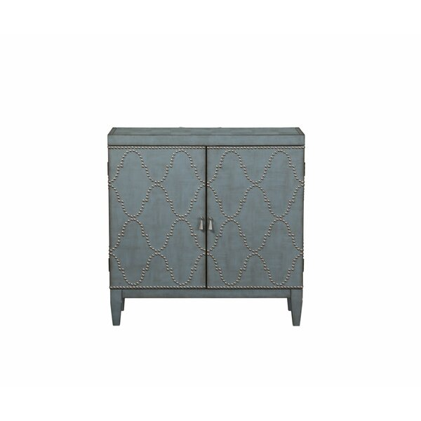 Minix 2 Door Accent Cabinet by Bungalow Rose Bungalow Rose
