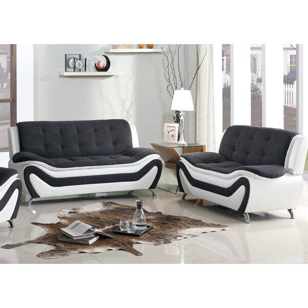 Vorgara 2 Piece Living Room Set by Orren Ellis Orren Ellis