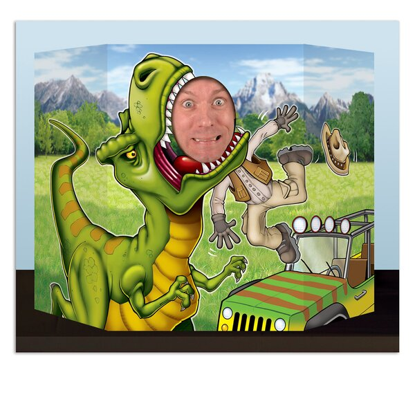 Dinosaur Photo Prop Standup by The Beistle Company