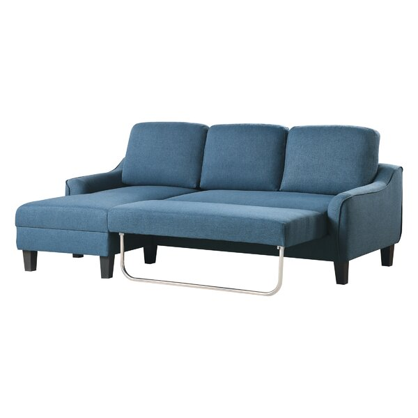 Abilash 83'' Square Arm Sofa Bed By Latitude Run