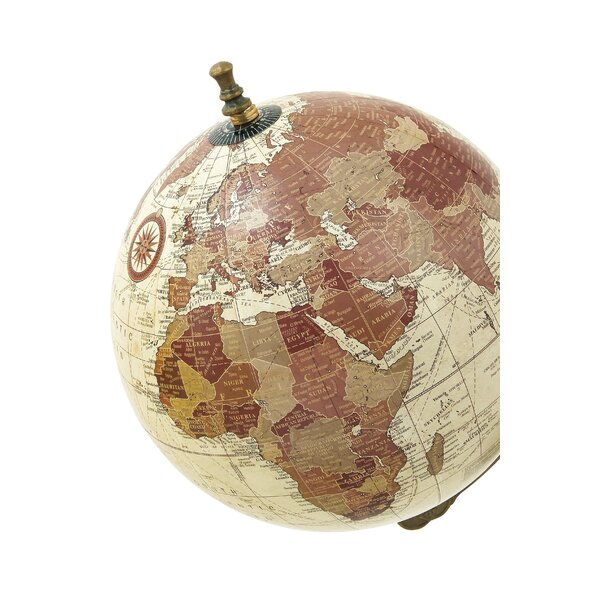 Metal and Wood Globe by Cole & Grey