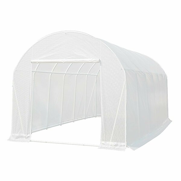10 Ft. W x 20 Ft. D Greenhouse by Abba Patio