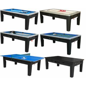 """Free Shipping /& Games In Stock ManCave Games 40/"""" Deluxe Rod Hockey Game Table"""