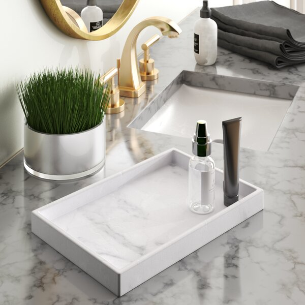Karam Bathroom Accessory Tray by Wade Logan