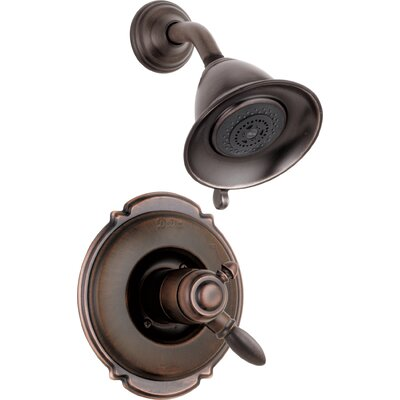 Shower Faucet Trim Handles Bronze photo