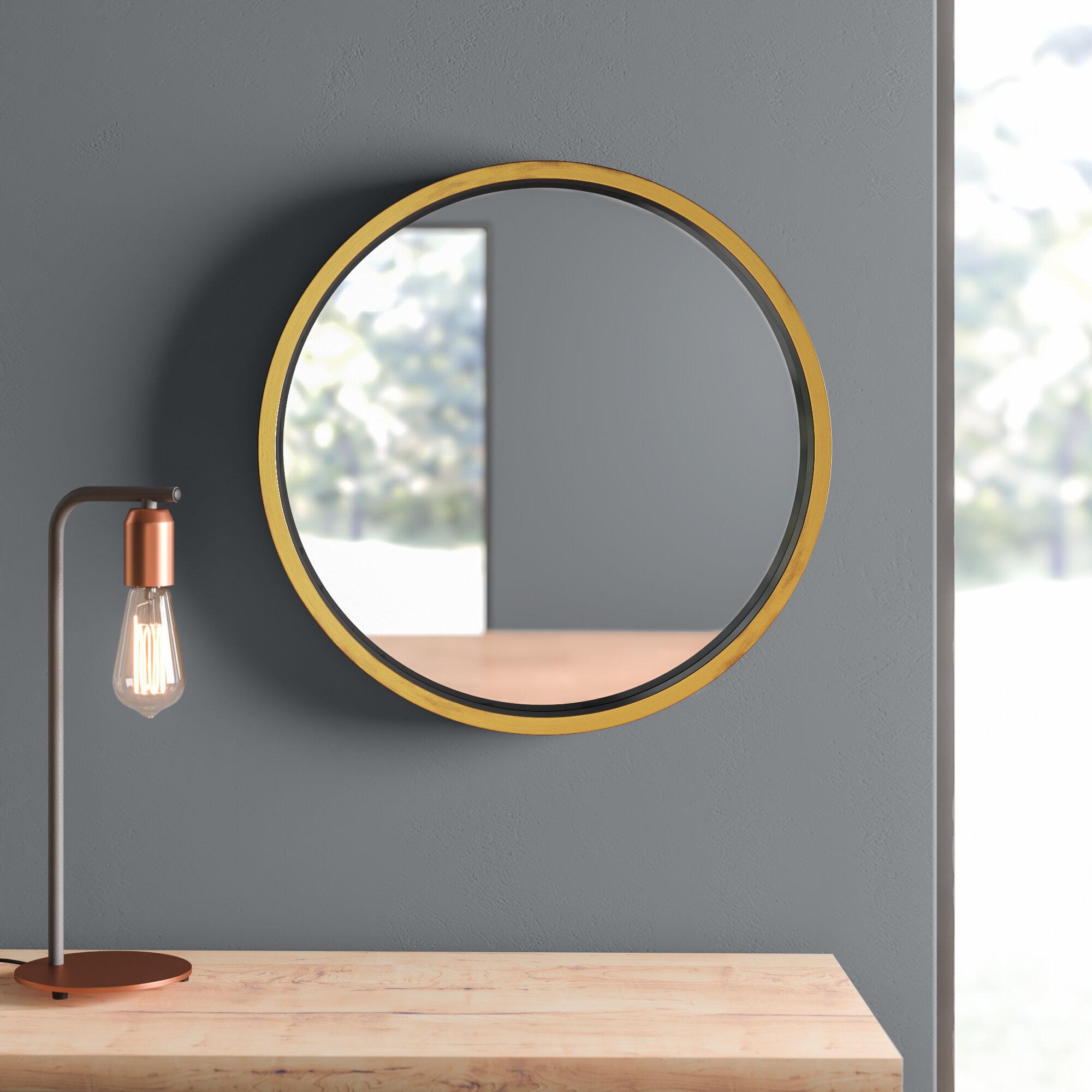 Picture of: Houten Modern Contemporary Bathroom Vanity Mirror Reviews Allmodern