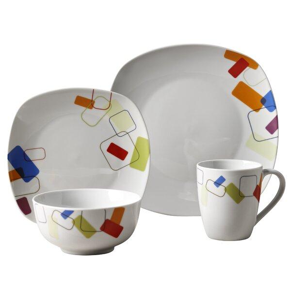 Eberhardt 16 Piece Dinnerware Set, Service for 4 by Ebern Designs