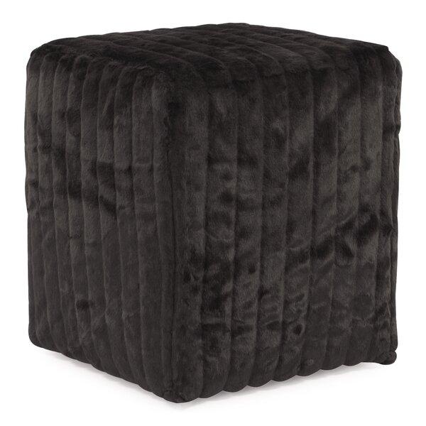 Bancroft Woods Cube Ottoman by Red Barrel Studio