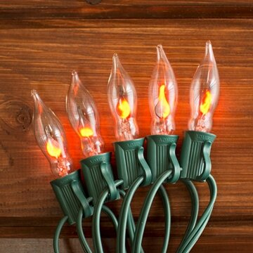 10 Light Flickering Flame Set by Penn Distributing