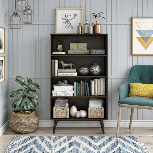 Brittany 4 Shelf Standard Bookcase