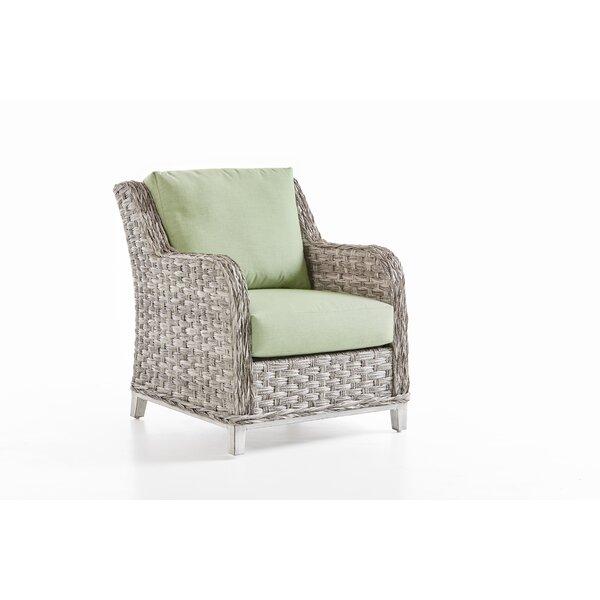 Craut Patio Chair With Sunbrella Cushion by Highland Dunes