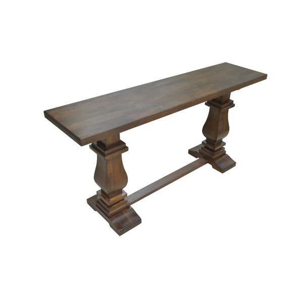 Tekla 15.75-inch Solid Wood Console Table by Darby Home Co Darby Home Co