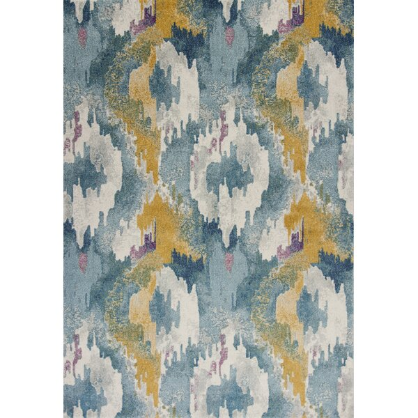 Chesterfield Teal Area Rug by Wrought Studio