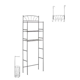 Best Price Palm 23.1 W x 65.75 H Over the Toilet Storage ByBEST LIVING INC