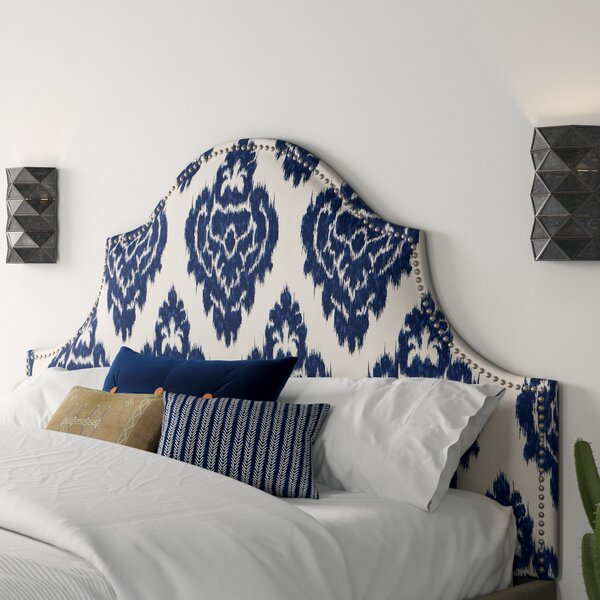 Esteban Upholstered Panel Headboard by Mistana