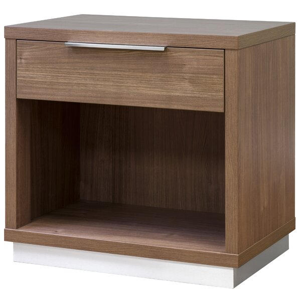 Reprise 1 Drawer Nightstand by Interia Hospitality