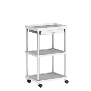 'Valet' 3 Tier Rolling Bar Cart by Mind Reader