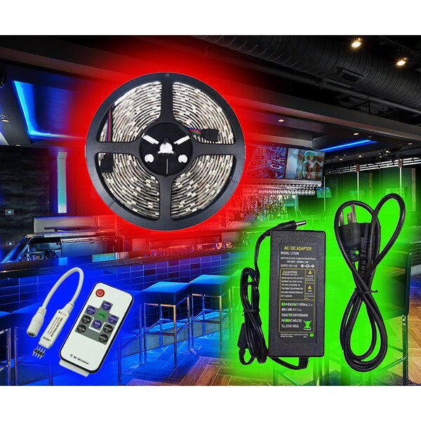 RGB Indoor LED Under Cabinet Strip Light by Italuce