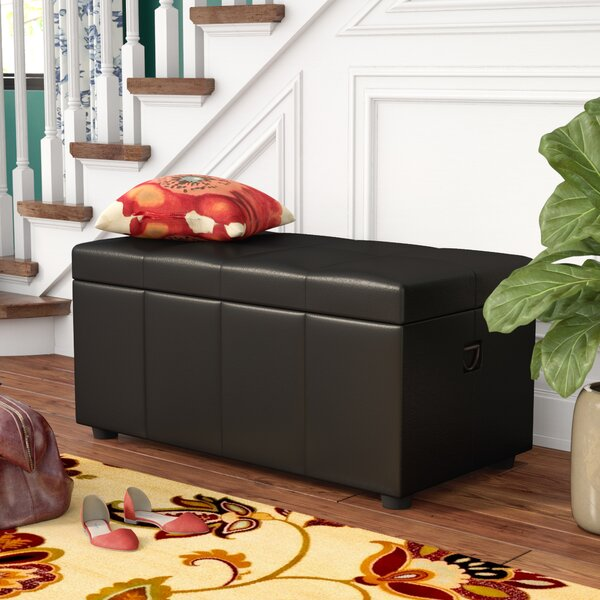 Stone Castle Storage Bench by Astoria Grand