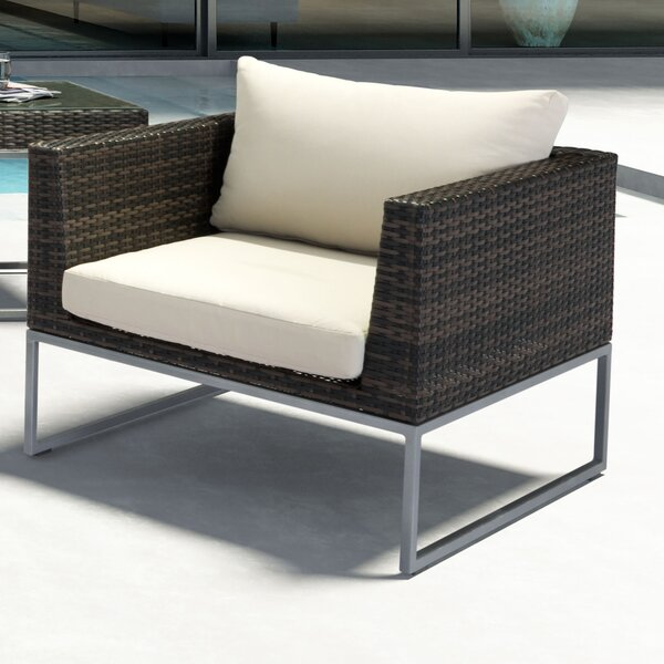 Hibbard Arm Chair with Cushion by Brayden Studio