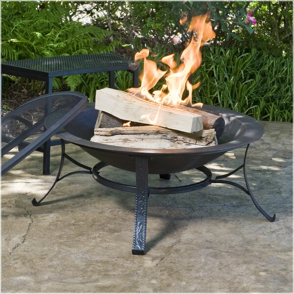 Cast Iron Wood Burning Fire Pit by CobraCo