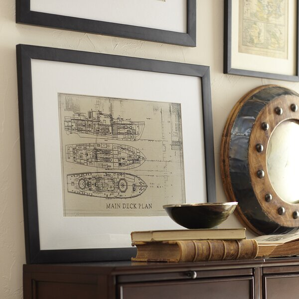 Starboard Framed Print I by Birch Lane™