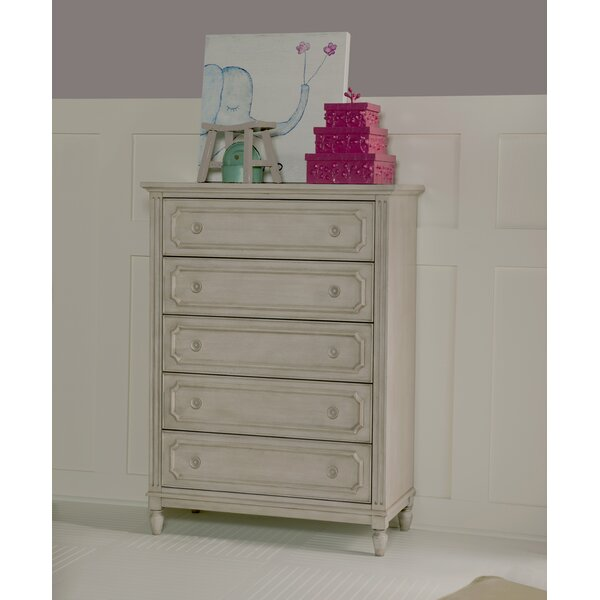 Alaina 5 Drawer Chest by One Allium Way
