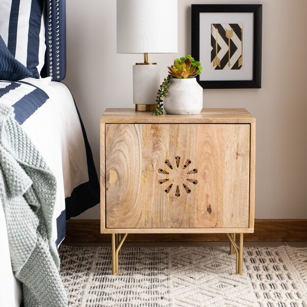Seidl Nightstand by Bungalow Rose