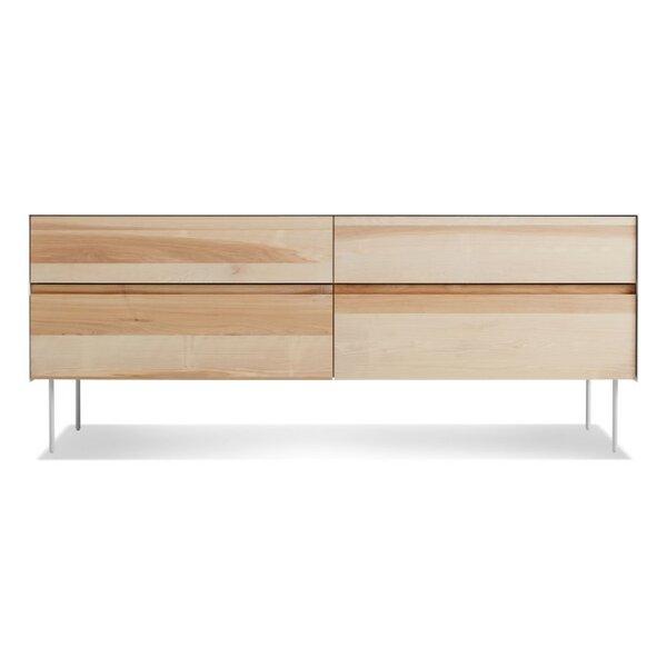 Clad 4 Drawer Double Dresser by Blu Dot