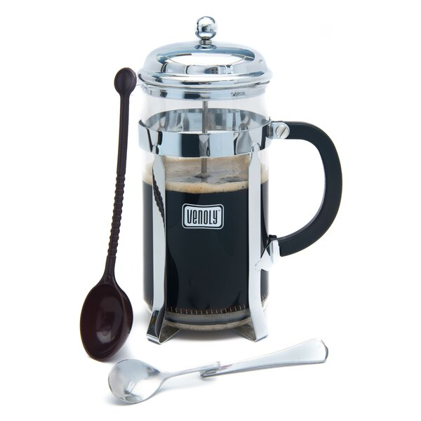 8-Cup French Press Coffee Maker by Venoly