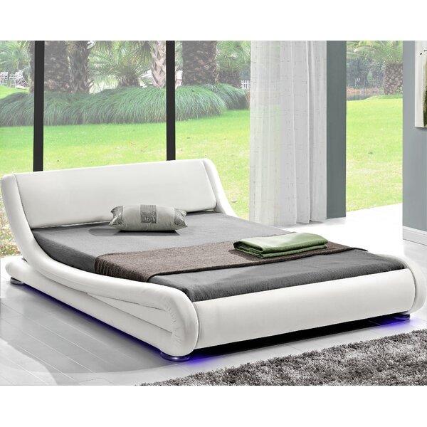 Kaukauna King Upholstered Sleigh Bed by Orren Ellis