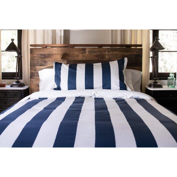 Lenore Stripe Reversible Duvet Cover Set