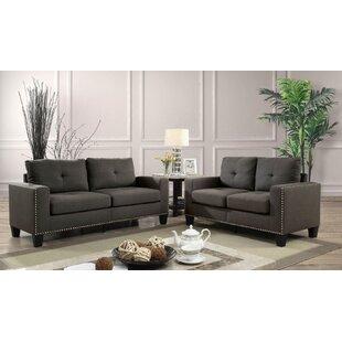 Regni 2 Piece Standard Living Room Set by Red Barrel Studio®