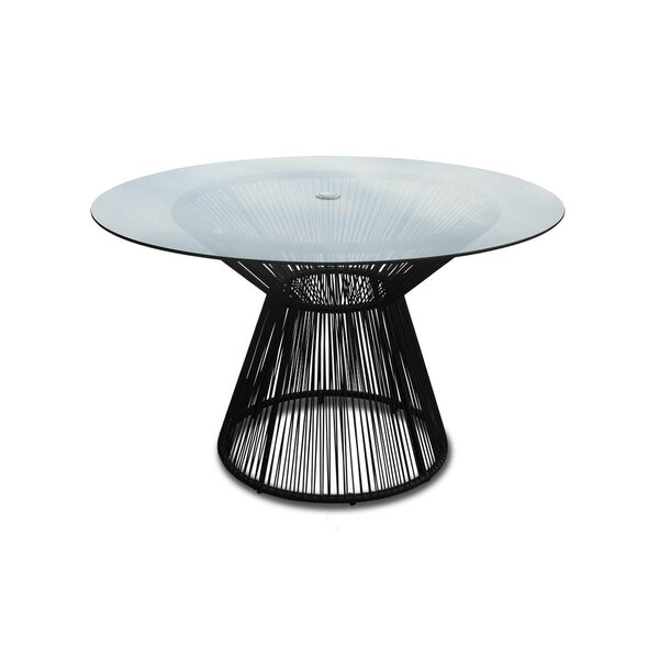 Ehrlich Metal Dining Table by Ivy Bronx