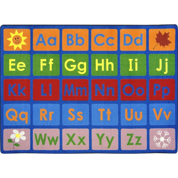 Kid Essentials Any Day Alphabet Tufted Rug