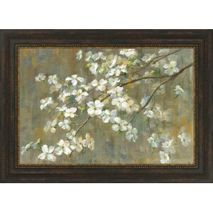 Dogwood in Spring by Danhui Nai Framed Painting Print by Tangletown Fine Art