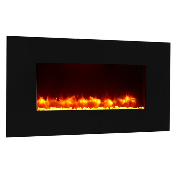 Remote Control Wall Mounted Electric Fireplace by Puraflame