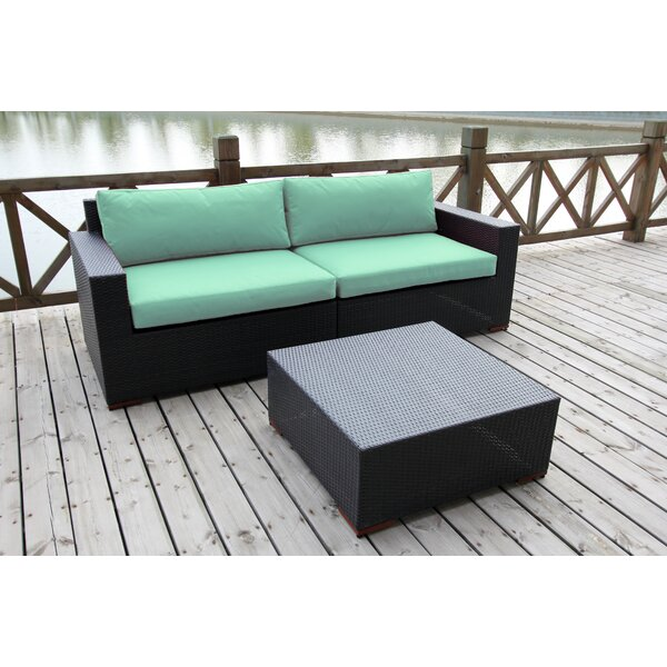 Scholtz 3 Piece Sectional Set (Set of 3) by Bay Isle Home Bay Isle Home