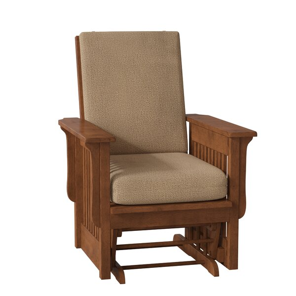 Eawood Wooden Rocking Chair