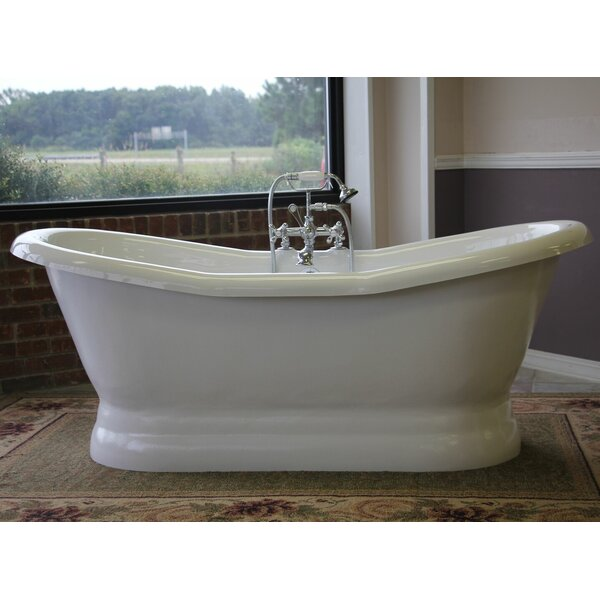 Empress 68 x 30 Freestanding Soaking Bathtub by Restoria Bathtub Company