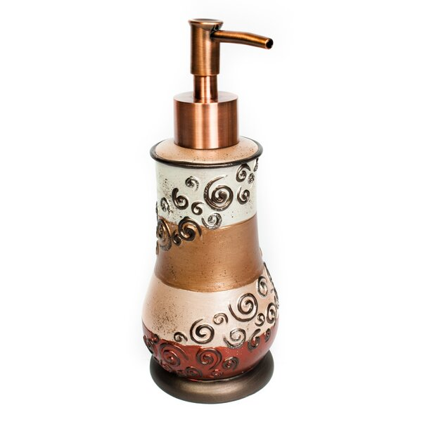Miramar Lotion Dispenser by Sweet Home Collection